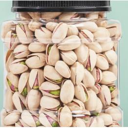 新货开心果500g罐装开口大颗粒原味坚果炒货孕妇儿童零食每日坚果散装5斤整箱